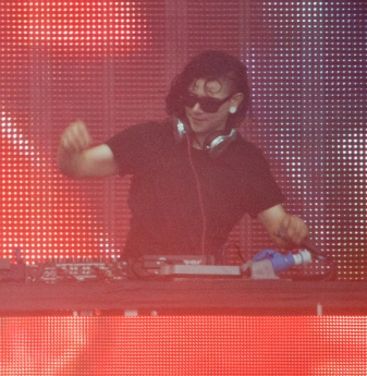 "US ""brostep"" king, Skrillex"